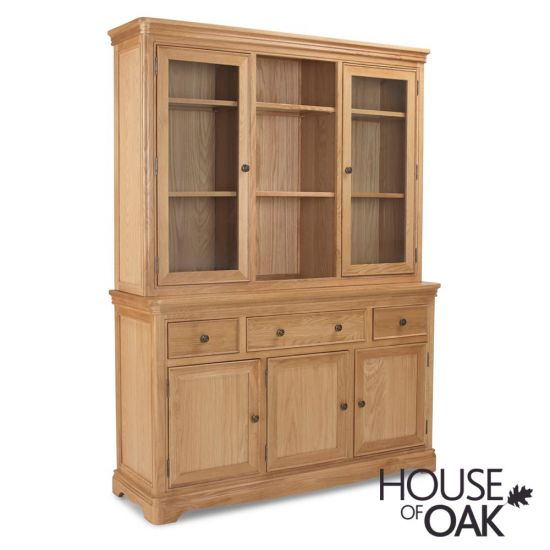 Toulouse Large Dresser in Natural Oak