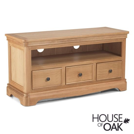 Toulouse TV Cabinet in Natural Oak