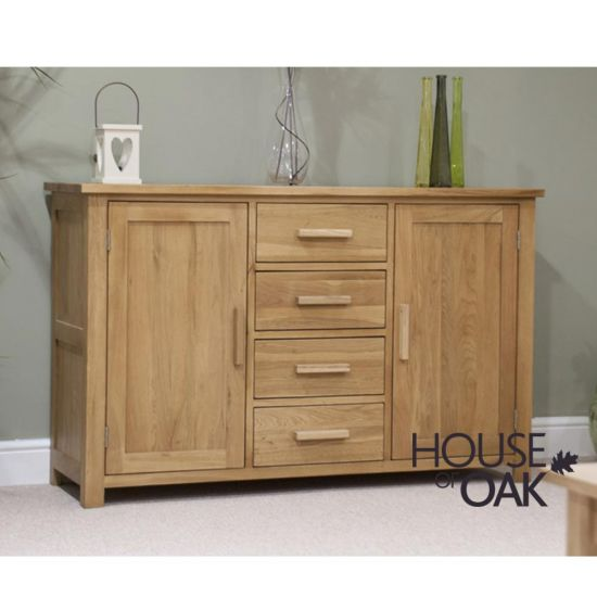 Opus Solid Oak Large Sideboard