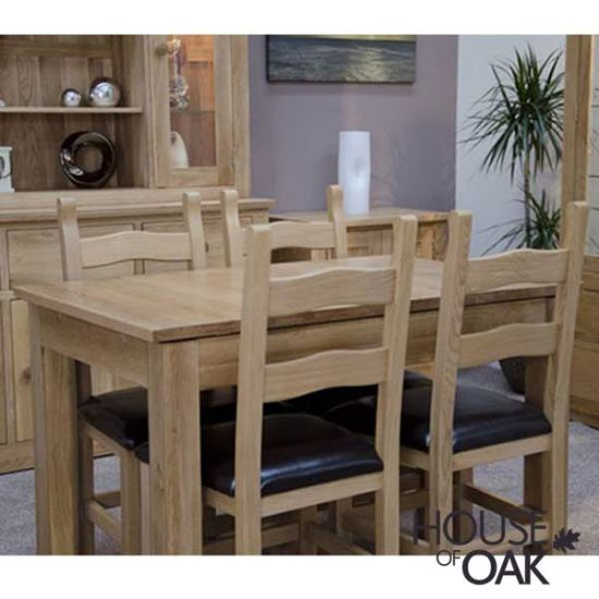 Opus Solid Oak Small Extending Table