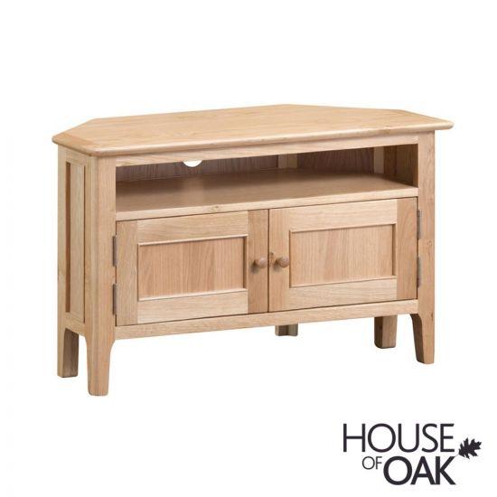 Oslo Oak Corner TV Cabinet