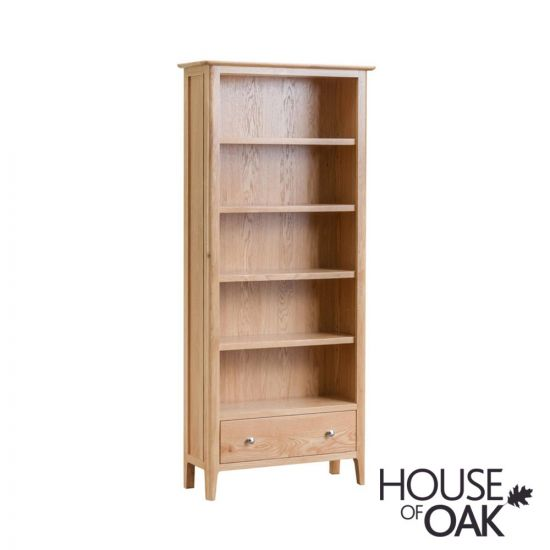 Oslo Oak Large Bookcase