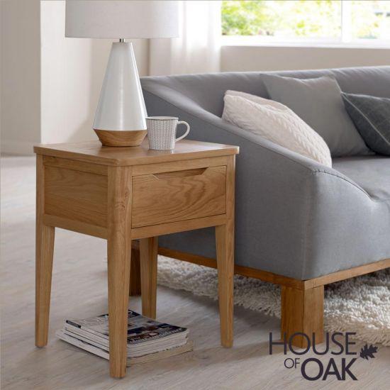 Copenhagen Oak Lamp Table