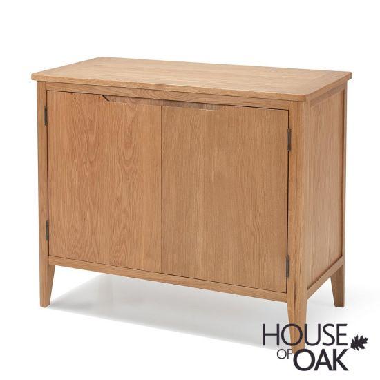 Copenhagen Oak Small Sideboard with Doors