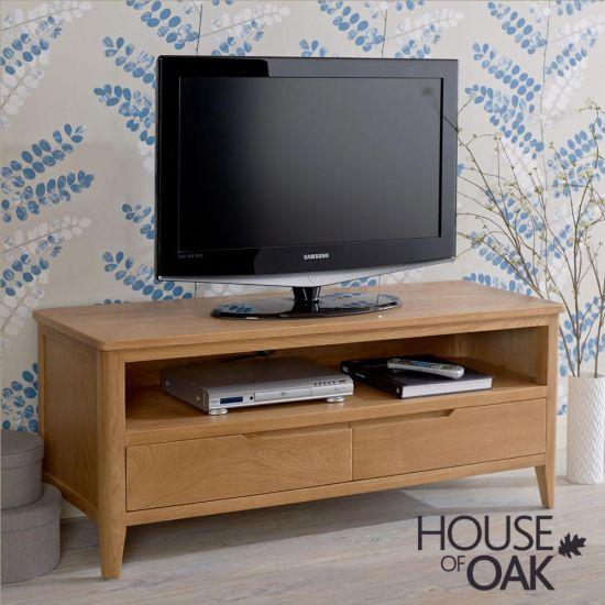 Copenhagen Oak Plasma TV Stand