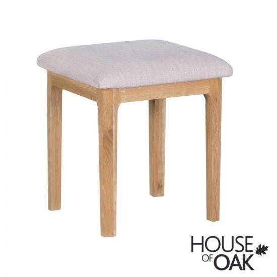 Oslo Oak Bedroom Stool
