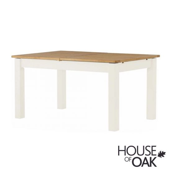 Portman Painted Extending Dining Table in White