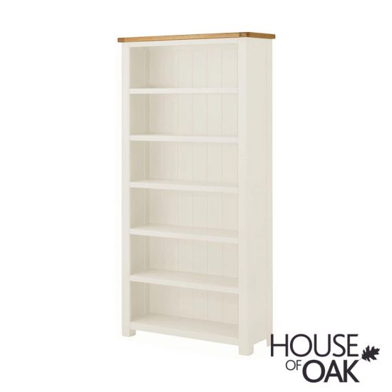 Portman Painted Large Bookcase in White
