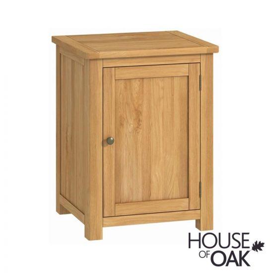 Portman Office 1-Door Cupboard in Oak