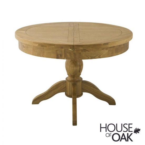 Portman Round Extending Table in Oak