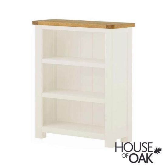 Portman Painted Small Bookcase in White