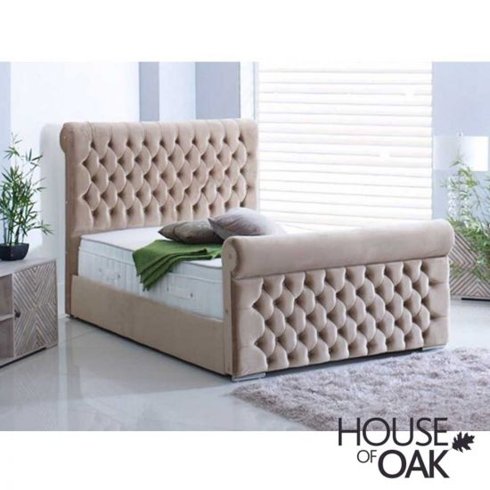 Rose Fabric Bed