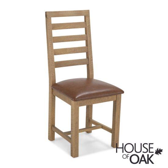 Windermere Rough Sawn Oak Dining Chair