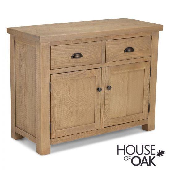 Windermere Rough Sawn Oak 2 Door 2 Drawer Sideboard