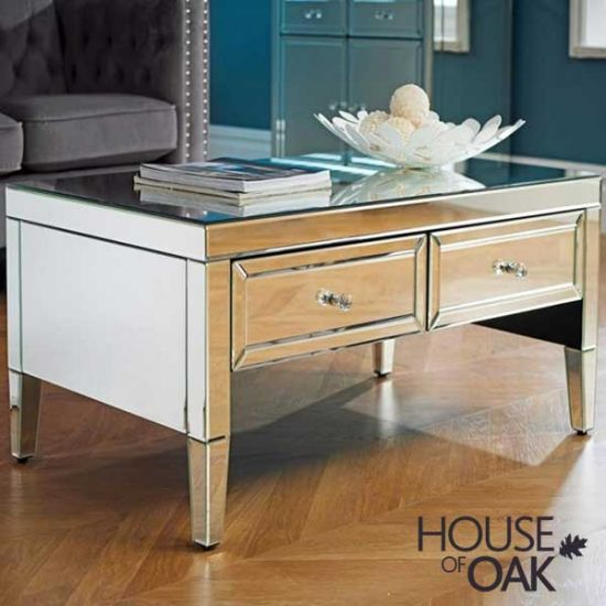 Seville Mirrored Coffee Table