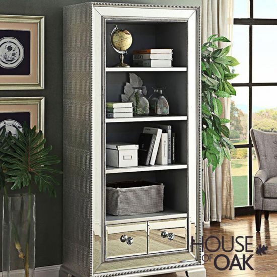 Mayfair Mirrored Bookcase