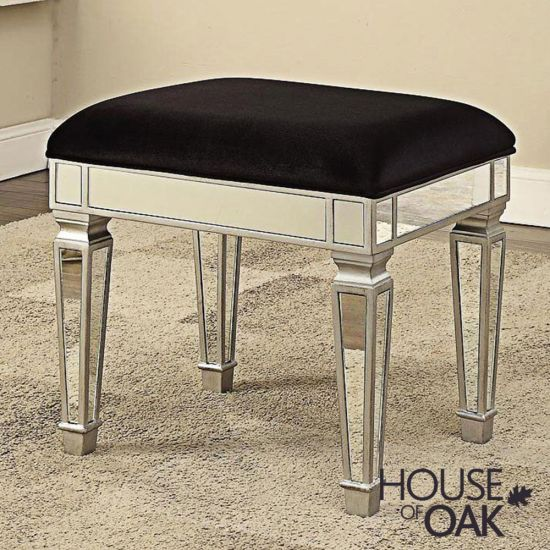 Mayfair Mirrored Dressing Table Stool