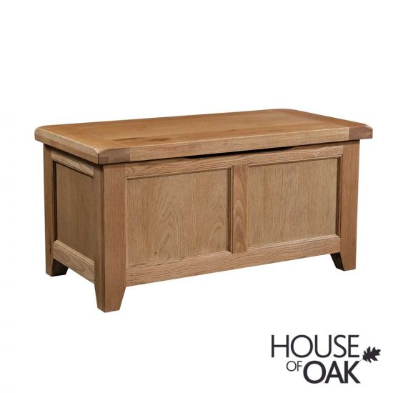 Canterbury Oak Blanket Box
