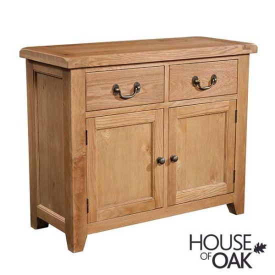 Canterbury Oak 2 Door 2 Drawer Sideboard
