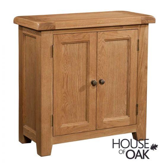 Canterbury Oak 2 Door Cabinet