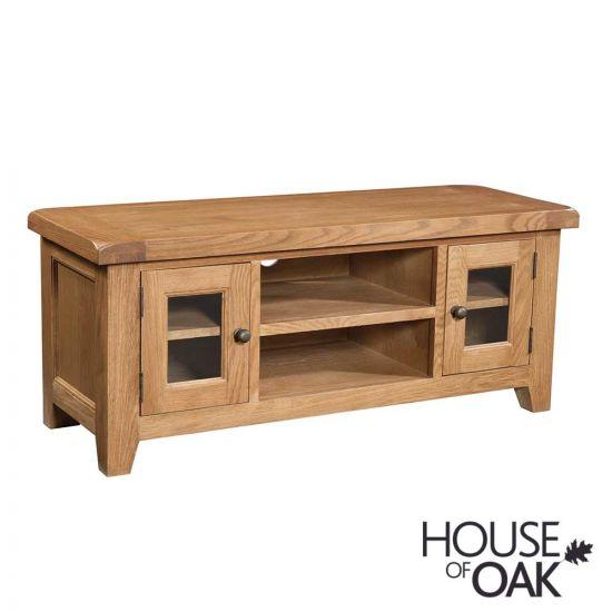 Canterbury Oak Large TV Cabinet