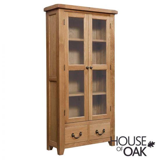 Canterbury Oak Display Cabinet