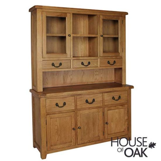 Canterbury Oak Large Dresser