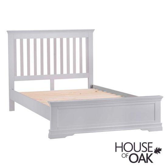 Chantilly Grey 4FT 6'' Double Bed