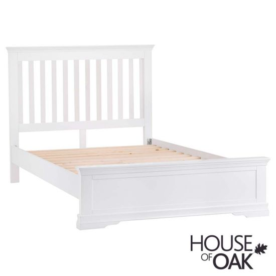 "Chantilly White 4FT 6"" Double Bed"