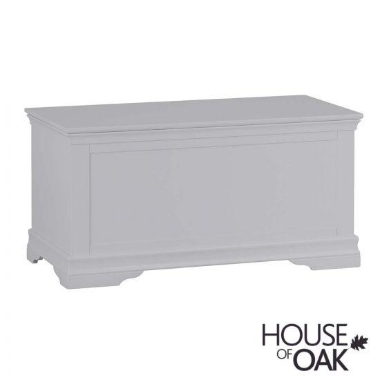 Chantilly Grey Blanket Box