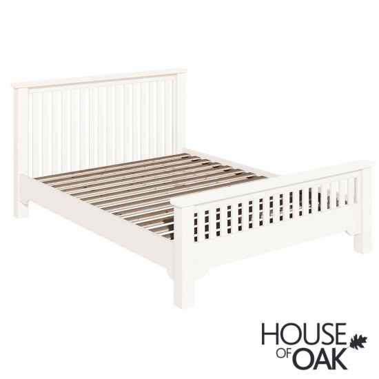 Symphony White 4FT 6'' Chunky Double Bed