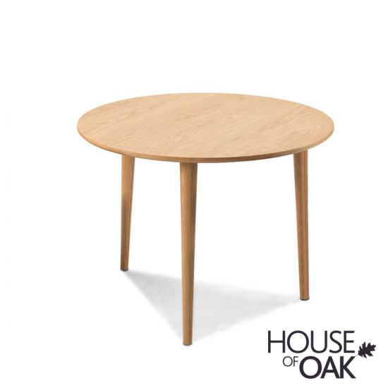 Nordic Oak  Round Dining Table