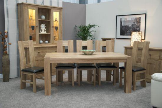 Pandora Solid Oak 180cm x 100cm Table