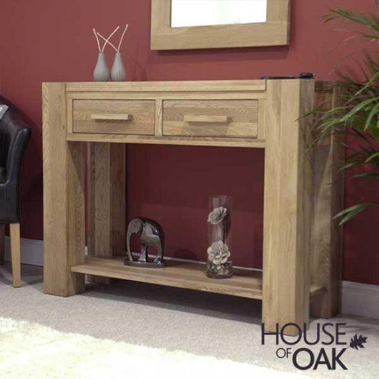 Pandora Solid Oak Hall Table