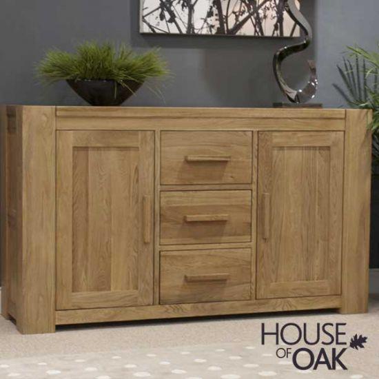Pandora Solid Oak Large Sideboard