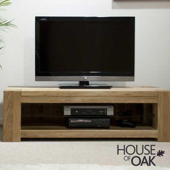 Pandora Solid Oak Plasma TV Unit