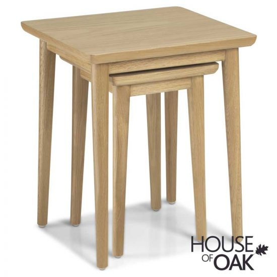 Nordic Oak Nest of Tables
