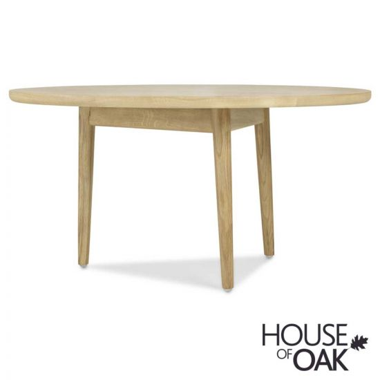 Nordic Oak Circular Coffee Table