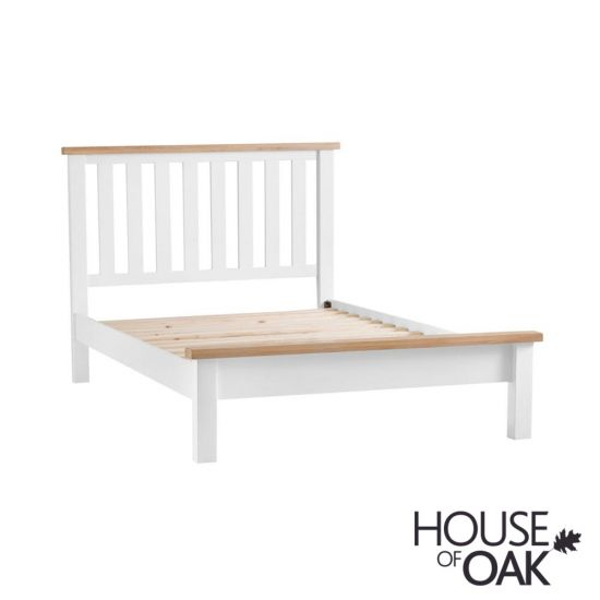 Florence Oak 3FT Single Bed - White Painted