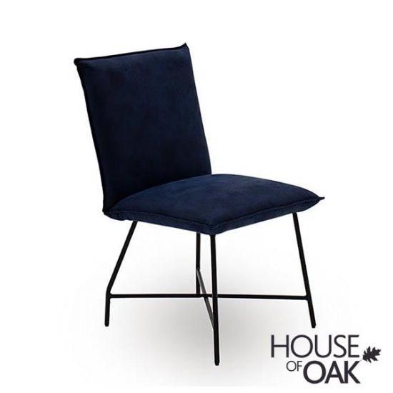 Vanya Lukas Dining Chair in Blue