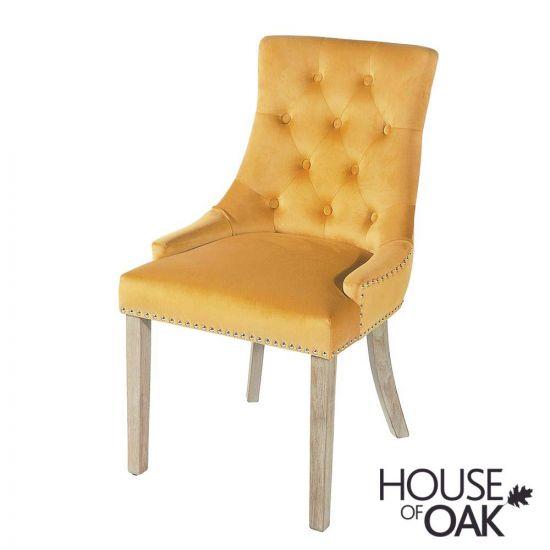 Vicky Chair - Mustard