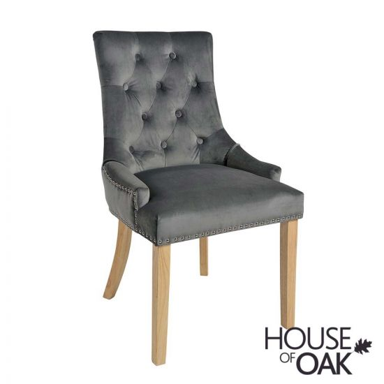 Vicky Chair - Smoky Charcoal