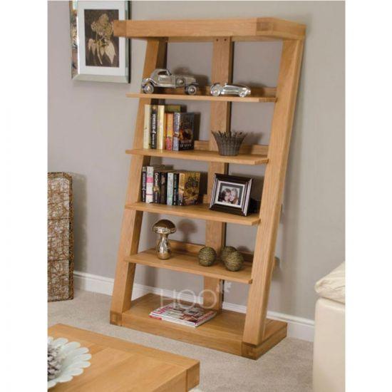 Z Oak Large Bookcase
