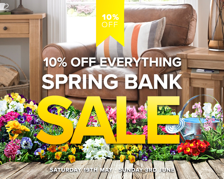 Spring Bank Holiday Sales Fit For Royalty