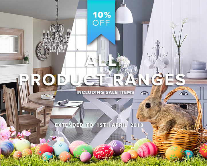 Easter Sales, Perfect For Modern Living In All Rooms In Your Home With 10% Off