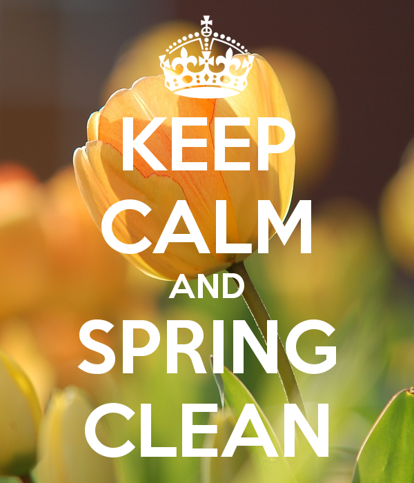 Time For a Spring Clean