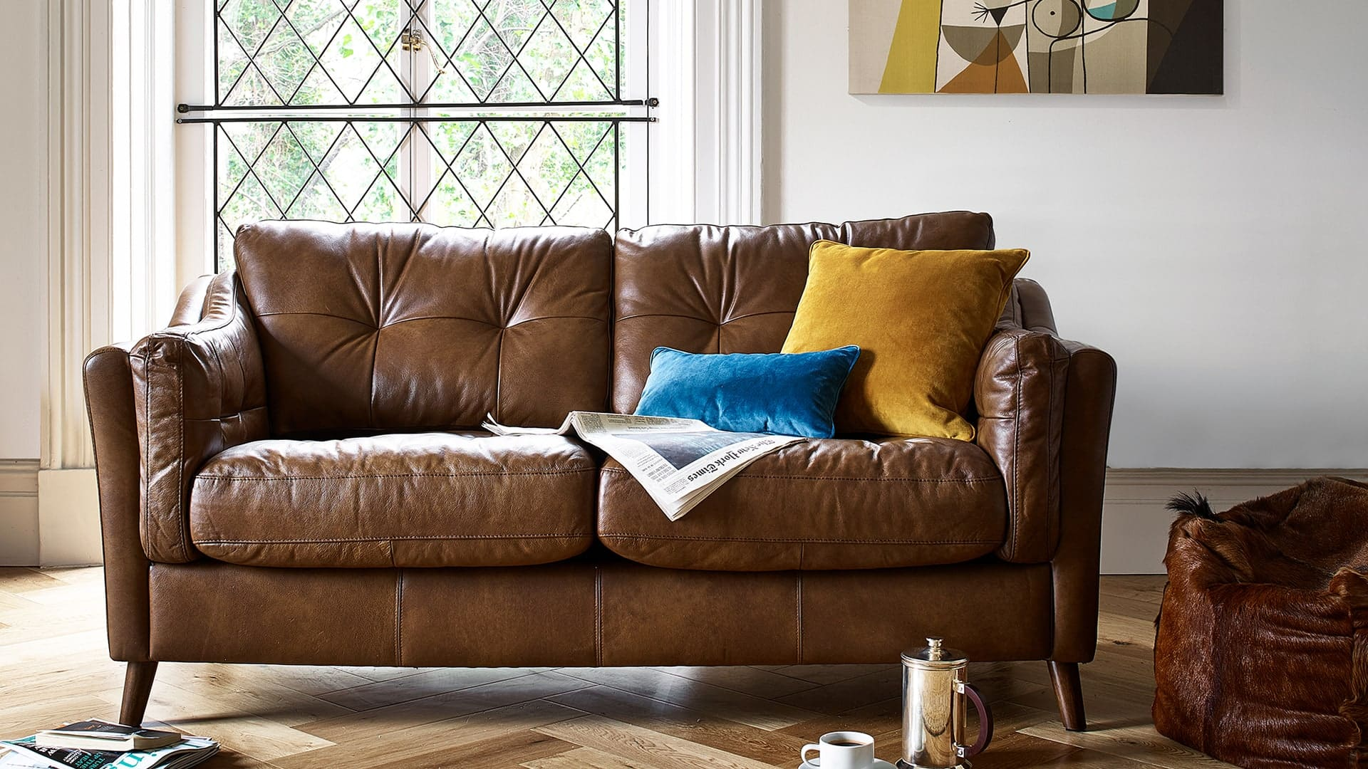 New In: Saddler Sofa Collection