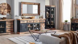 9 Industrial Style Ideas for Living, Dining & Laundry Rooms