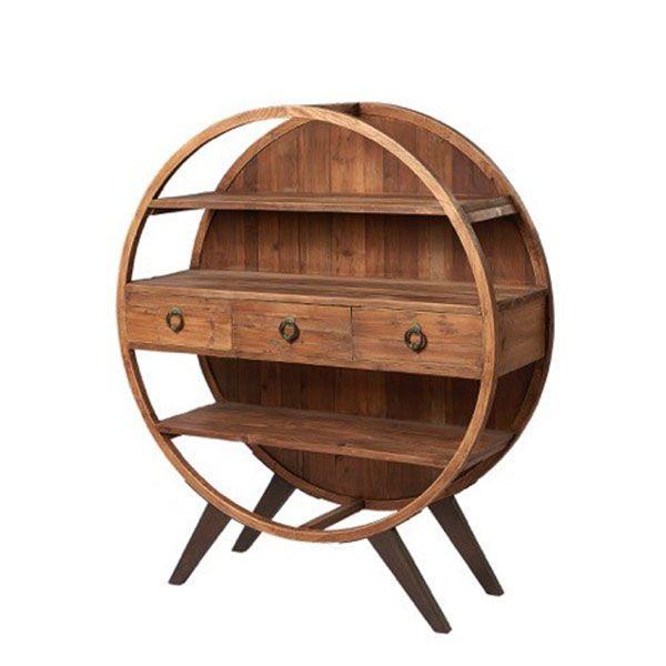 circular display cabinet