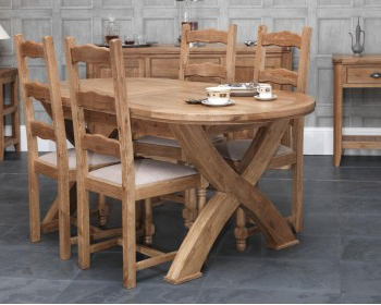 Heritage Oval Extending Table